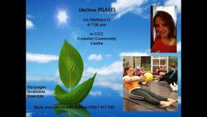 Fatime LifeGlow Pilates Poster