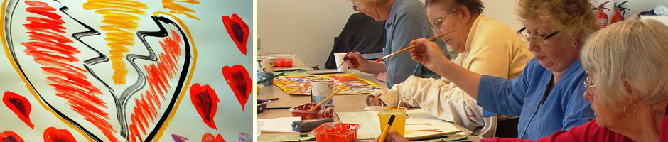 Patchway arts and crafts painting group